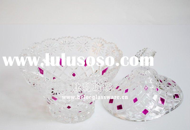 Wedding Gifts Crystal Glass Candy Container