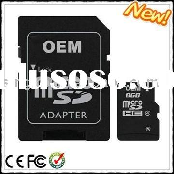 Wholesale high-speed memory card 8gb micro sd