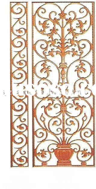 Wrought Iron Decorative Mesh