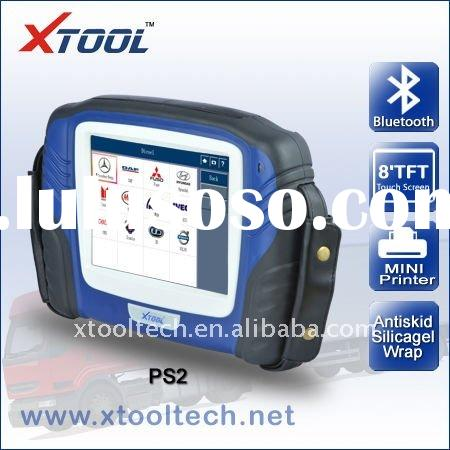 XTOOL PS2 heavy duty truck scanner,truck diagnostic tool