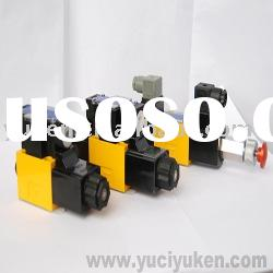 YUKEN hydraulic assembly,manual valve,modular valves
