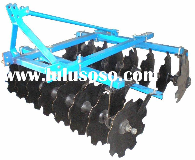 agricultural machinery mounted light-duty disc harrow