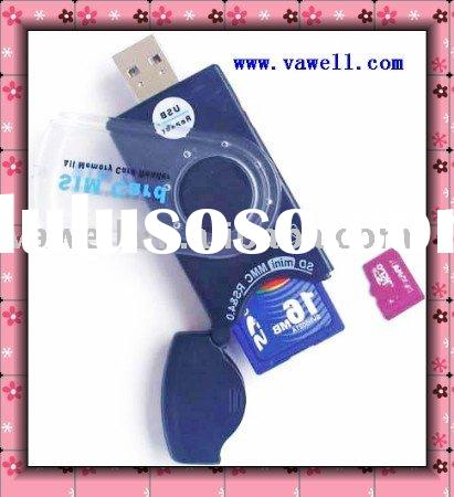 all in one card reader ,SD/MMC card reader,memory card reader