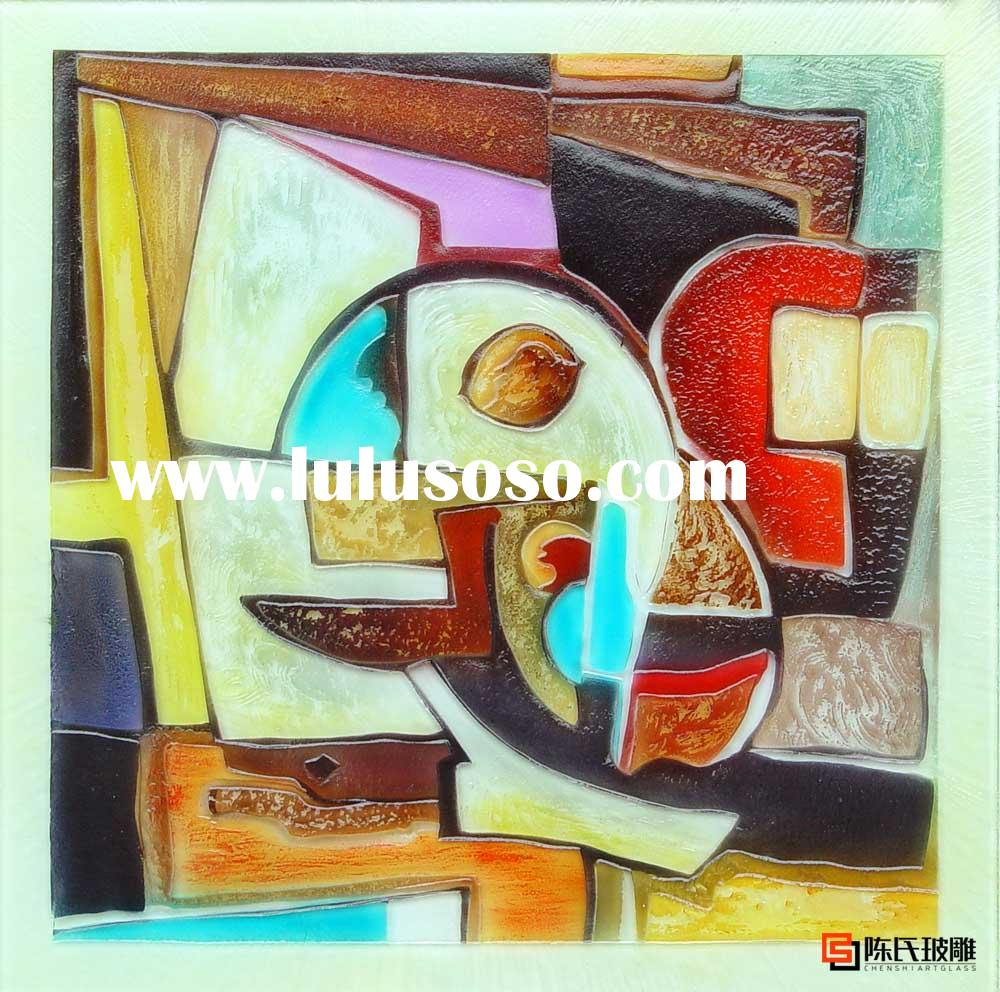 art glass painting