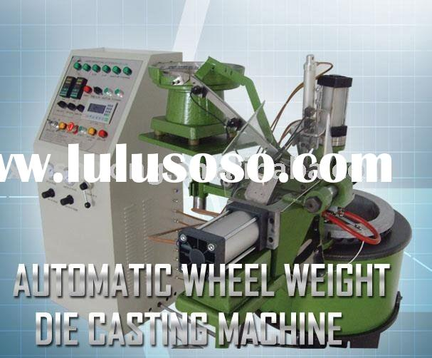 automatic wheel weight die casting machine