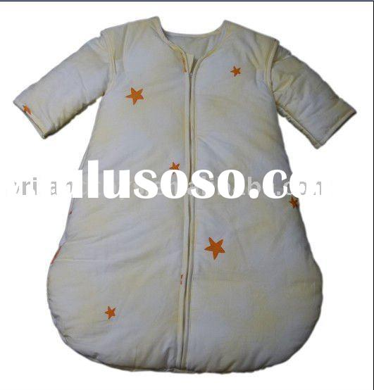 baby sleeping bag with sleeves