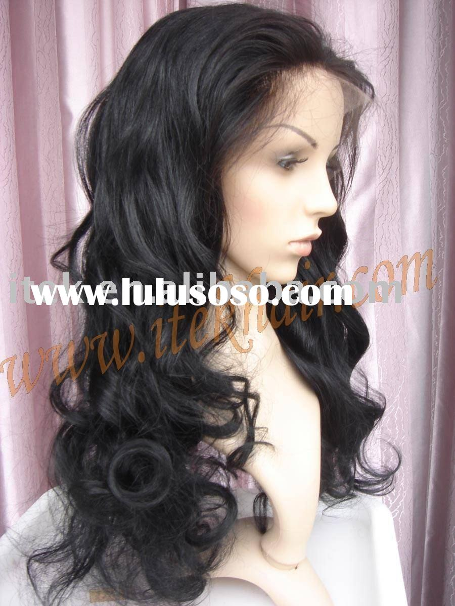 beyonce style,loose curl 100% indian remy hair full lace wig, 150% density, accept paypal!