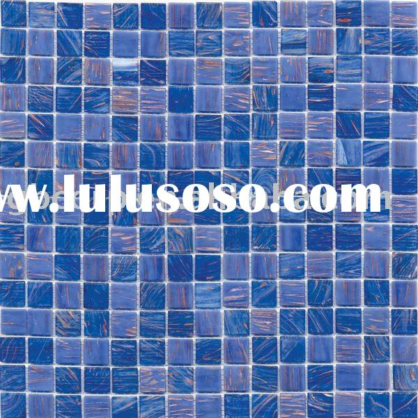 blend glass mosaic wall and floor tile 20*20mm MPA314