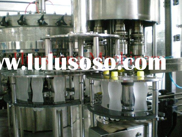 carbonated drinks/soda water/sparkling water/cola/aerated drinks filling machine