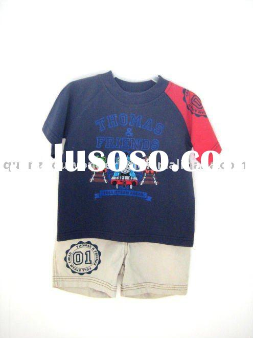 children clothing, boys short sets