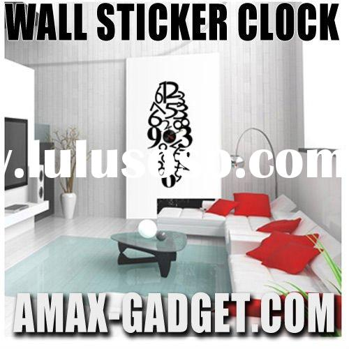 cl-5720991 Vinyl Wall Sticker Clock Promition Gift Modern Design Art Clock