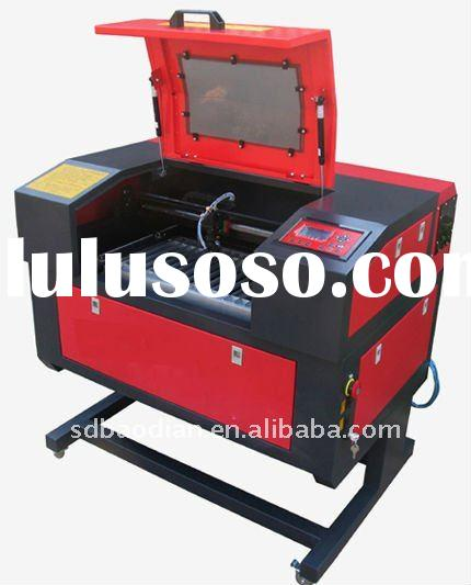 co2 mini laser cutting and engraving machine BD5030 Mini design special for small art making