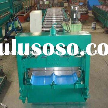 construction machine cable tray roll forming machine