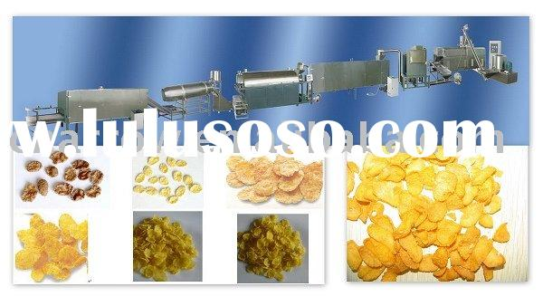 corn flakes (Breakfast Cereals)/ crispy rice machinery