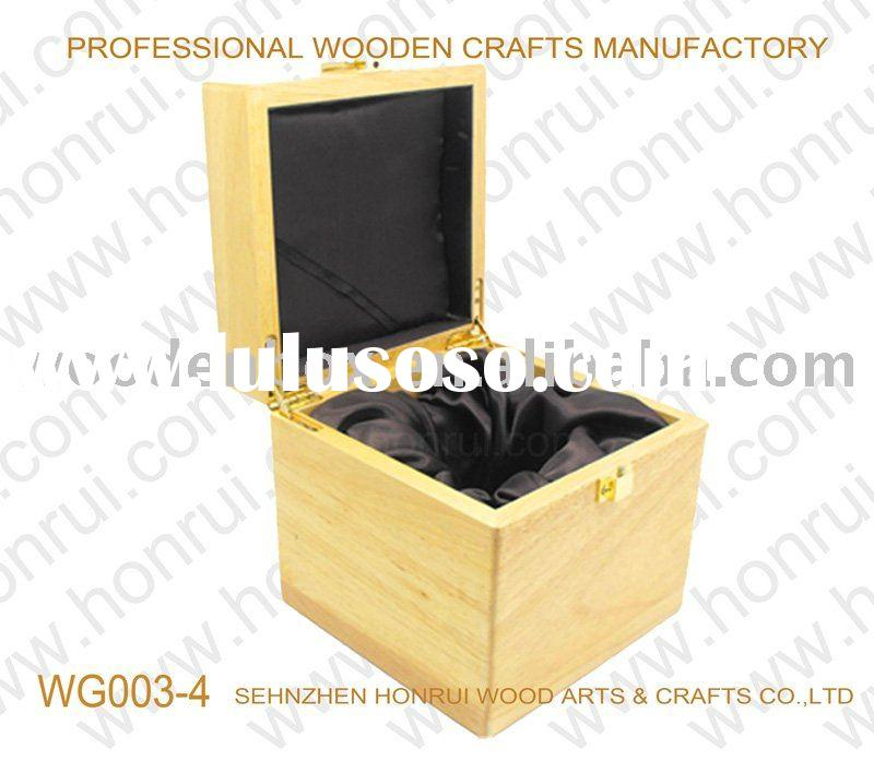 different kinds of wooden gift box