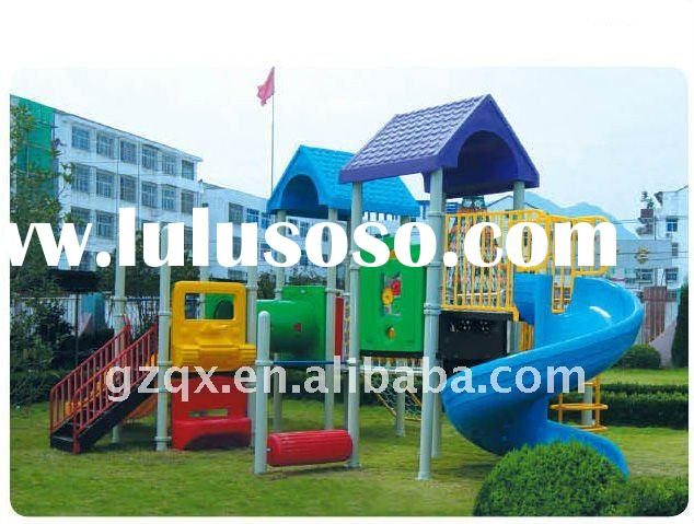 eco friendly playground equipment for kids outdoor tunnel slide nice children playground equipment