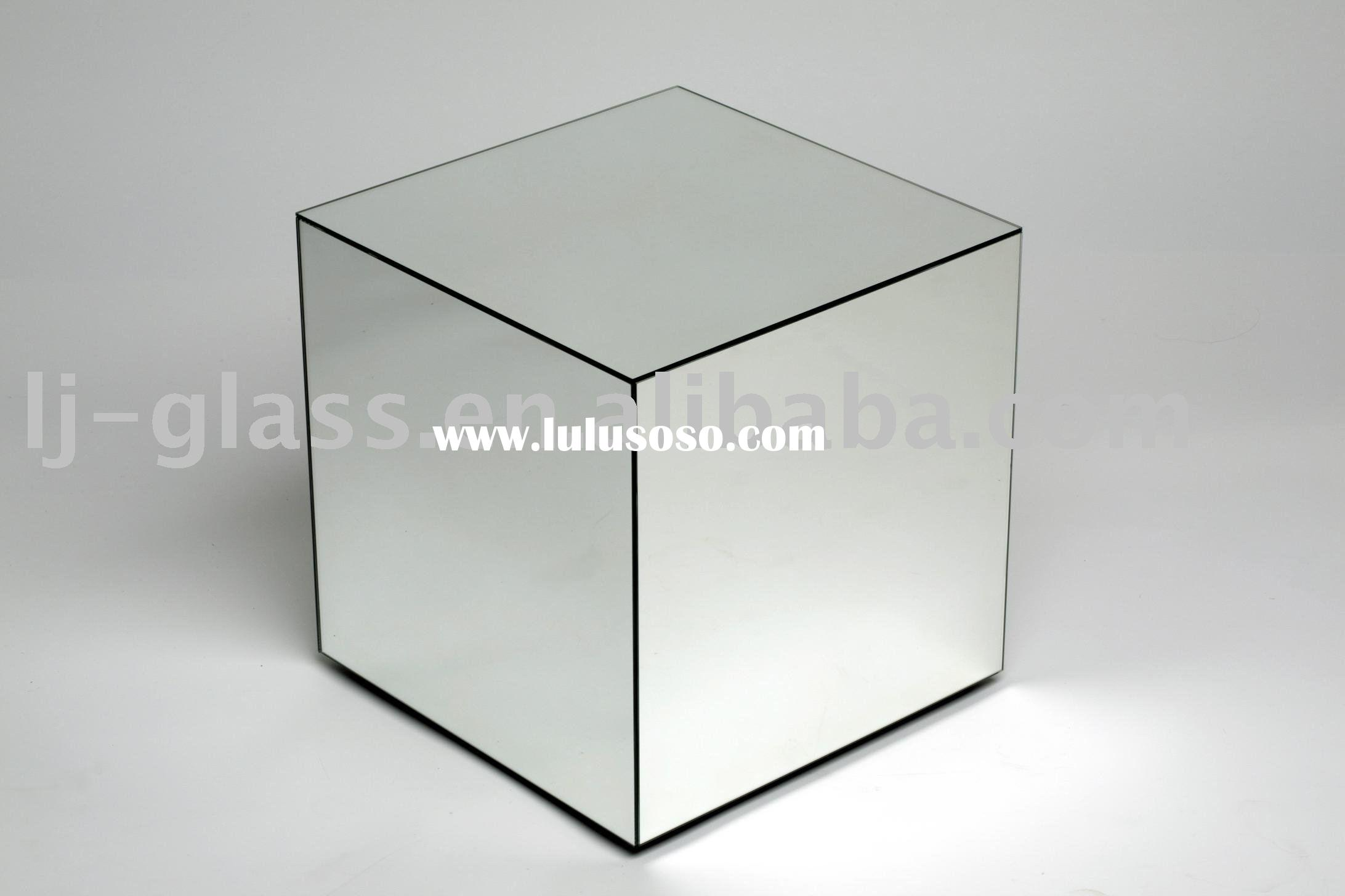 Glass cube coffee table glass cube coffee table for Glass cube coffee table