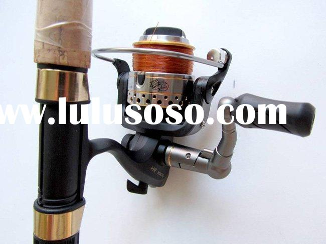 fishing combination pack fishing rod fishing bait fishing reel+hook fishing rod combo