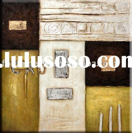 heavy textured Abstract oil painting ,art canvas