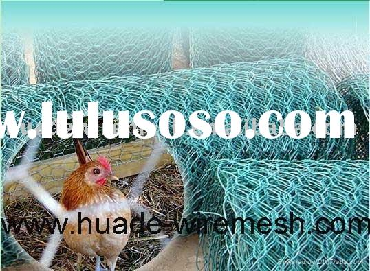 hexagonal wire mesh, Plastic Coated Poultry Netting , Rabbit-Proof Fence
