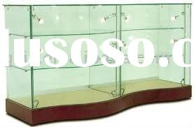 high-grade led glass display cabinet