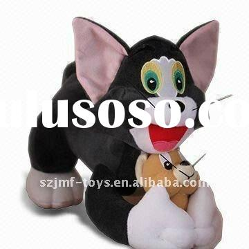 high quality best price jerry curl Tom and Jerry Plush Toys, Available in Various Colors and Designs