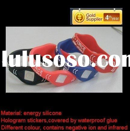 hot selling power energy balance silicone bracelet