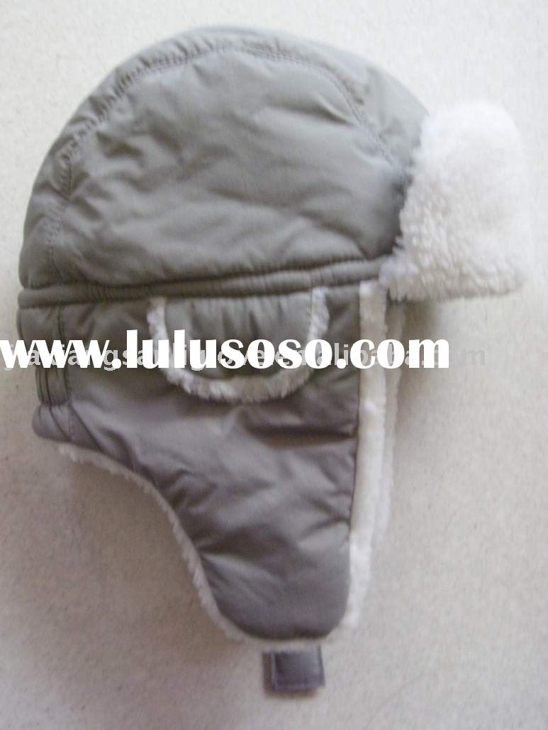 international approved children's winte hats with earflap