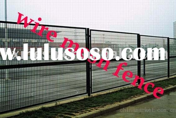 iron wire mesh fence