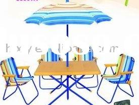Kids Patio Set ( Chair, Table And Umbrella)