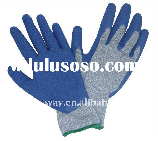 latex dipped cotton glove