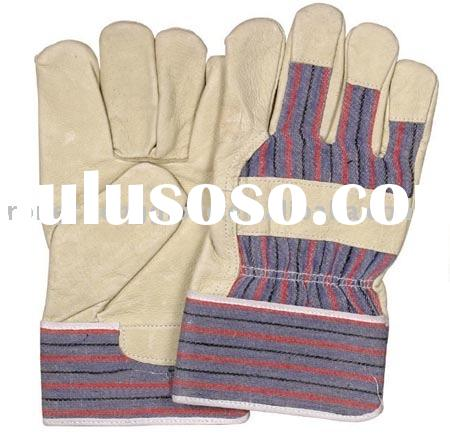 leather glove(leather safety glove)