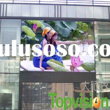 light 10mm outdoor electronic advertising boards