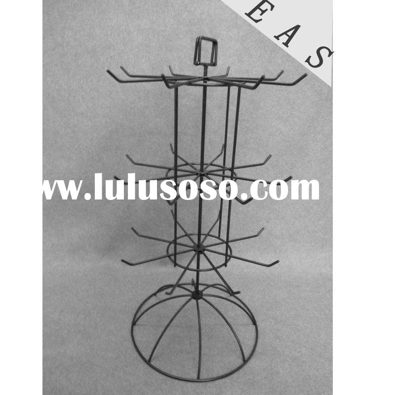 metal display rack three jewelry display stand iron wire display stand