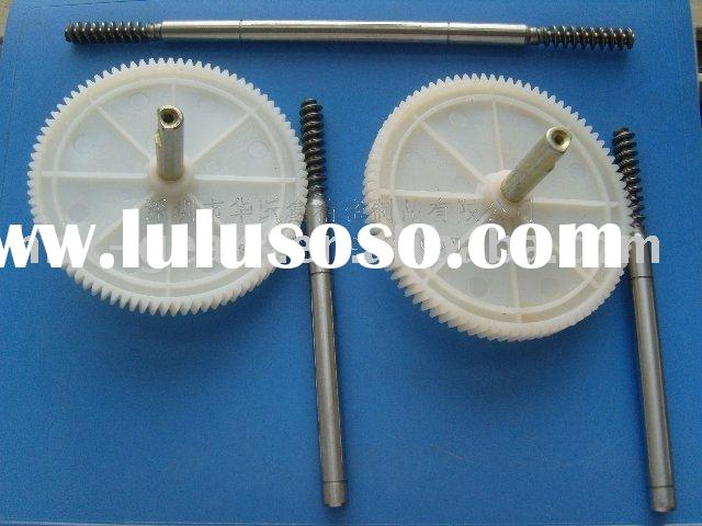 metal worm shaft and worm wheel