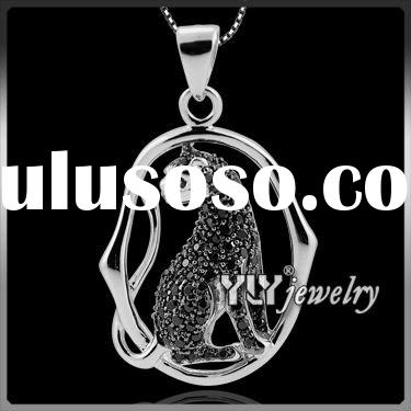 new design leopard pendant silver jewelry Factory Price Silver or brass Earrings,rings Jewelry
