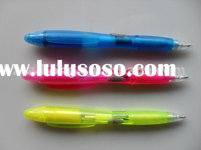 new fruit scented highlighter with ball pen combination