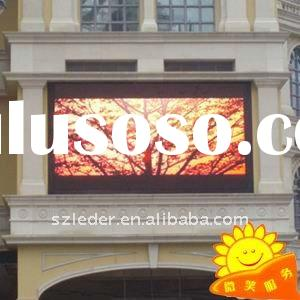 outdoor PH12 wall mounted led display board