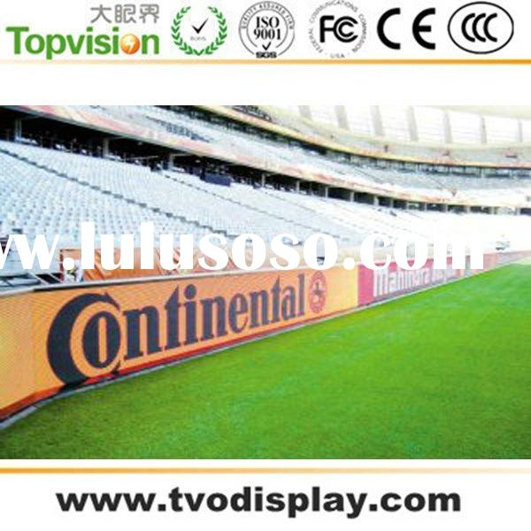 outdoor full color 16mm football pitch LED digital advertising LED display screen