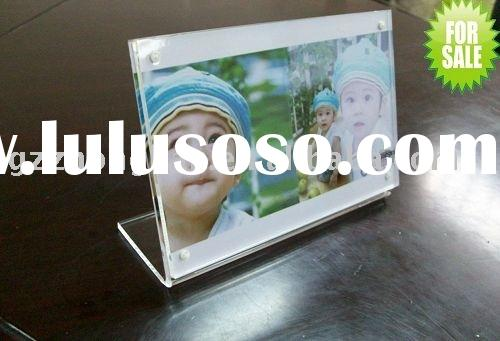plexiglass frame&acrylic display