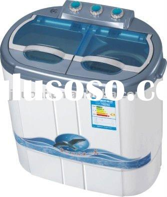 portable twin-tub washing machine