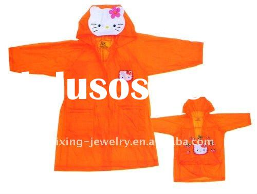 pvc raincoat,raincoat for children,kids raincoat