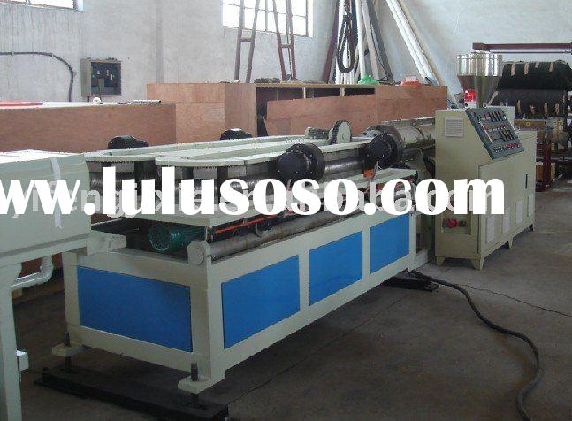 pvc threading pipe production line,plastic machinery