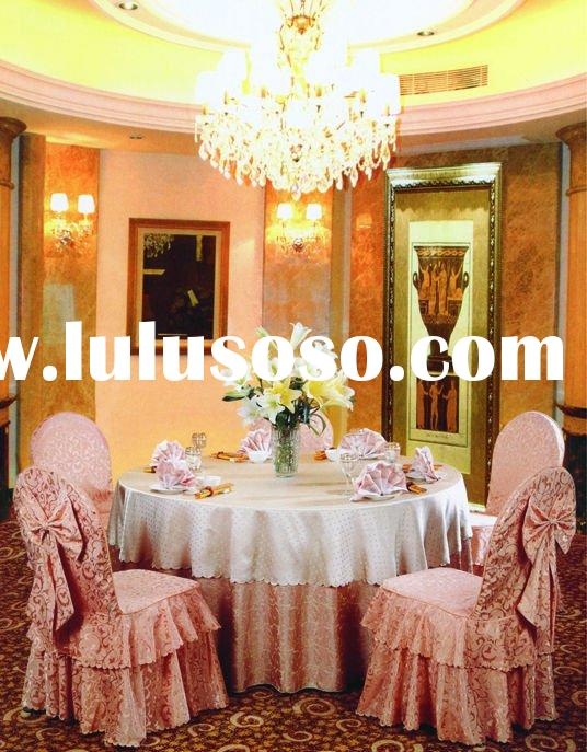 round table cover/table cloth/polyester table cloth/ bed sheet