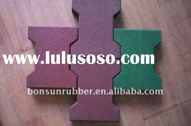 safety rubber mulch for playground