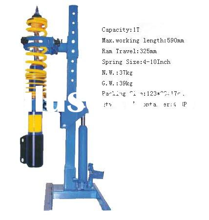 how to use hydraulic coil strut compressor