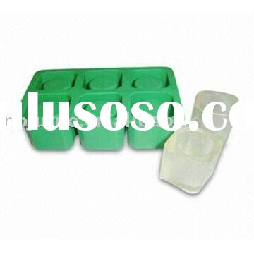 silicone ice tray and Ice cube Tray and ice shot glass tray