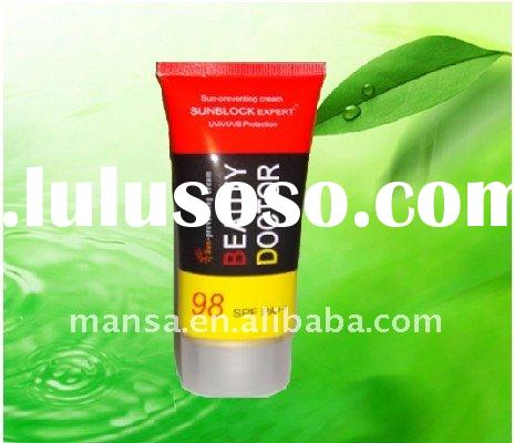 skin whitening face cream Sunblock Expert SPF 98 free sample hot 2011