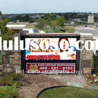 small advertising led display outdoor