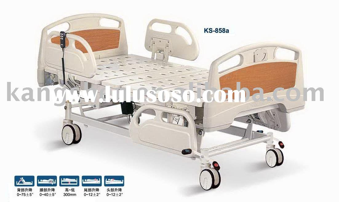 stable convenient electric 5-function hospital bed